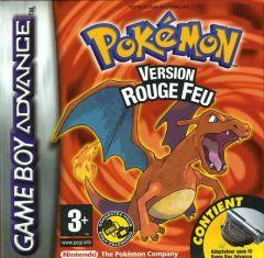 Jaquette de Pokémon Version Rouge Feu Game Boy Advance