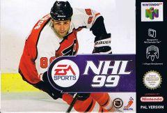 Jaquette de NHL 99 Nintendo 64