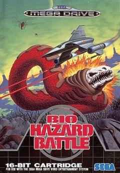 Jaquette de Bio-Hazard Battle Megadrive