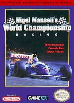 Jaquette de Nigel Mansell's World Championship Atari ST