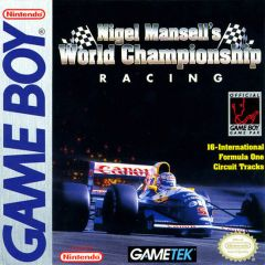Jaquette de Nigel Mansell's World Championship Game Boy
