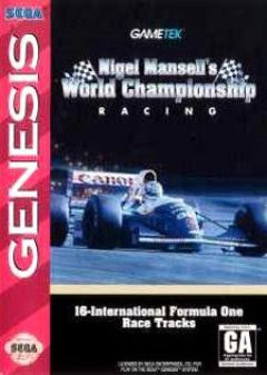 Jaquette de Nigel Mansell's World Championship MegaCD