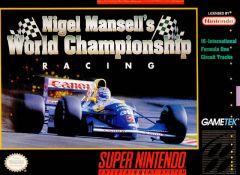 Jaquette de Nigel Mansell's World Championship Super NES