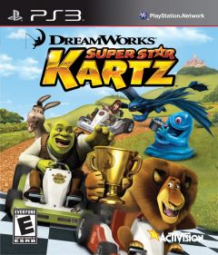 Jaquette de Dreamworks Super Star Kartz PlayStation 3