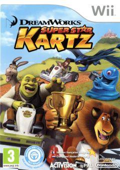 Jaquette de Dreamworks Super Star Kartz Wii