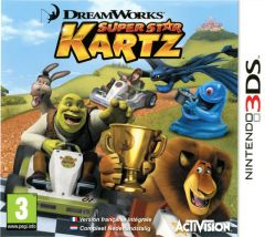 Jaquette de Dreamworks Super Star Kartz Nintendo 3DS