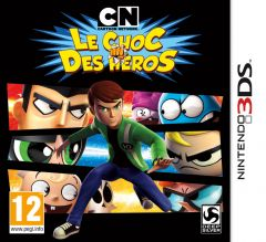 Jaquette de Cartoon Network : Le Choc des H�ros Nintendo 3DS