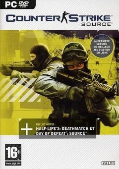 Jaquette de Counter Strike : Source PC