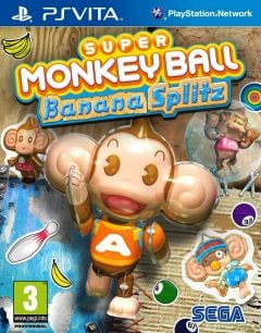 Jaquette de Super Monkey Ball Banana Splitz PS Vita