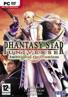 Jaquette de Phantasy Star Universe : Ambition of the Illuminus PC