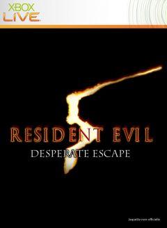 Jaquette de Resident Evil 5 : Une Fuite Désespérée Xbox 360