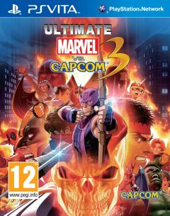 Jaquette de Ultimate Marvel Vs. Capcom 3 PS Vita