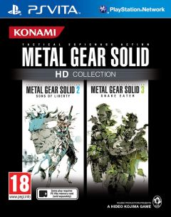 Jaquette de Metal Gear Solid HD Collection PS Vita