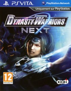 Jaquette de Dynasty Warriors Next PS Vita