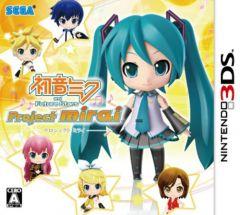 Jaquette de Hatsune Miku and Future Stars Project Mirai Nintendo 3DS