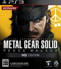 Jaquette de Metal Gear Solid : Peace Walker PlayStation 3