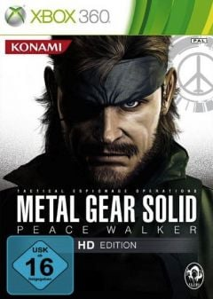 Jaquette de Metal Gear Solid : Peace Walker Xbox 360