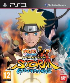 Jaquette de Naruto Shippuden : Ultimate Ninja Storm Generations PlayStation 3