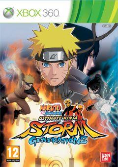 Jaquette de Naruto Shippuden : Ultimate Ninja Storm Generations Xbox 360