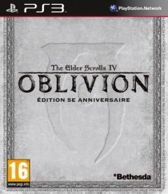 Jaquette de The Elder Scrolls IV : Oblivion Edition 5e anniversaire PlayStation 3