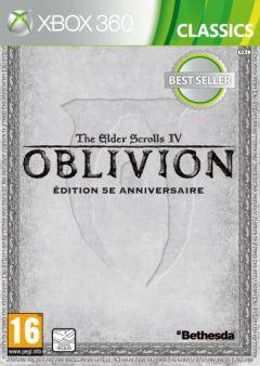 Jaquette de The Elder Scrolls IV : Oblivion Edition 5e anniversaire Xbox 360
