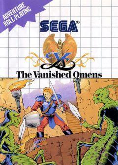 Jaquette de Ys Master System