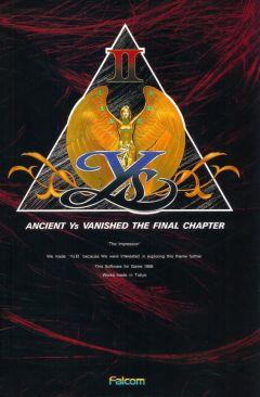 Jaquette de Ys II : Ancient Ys Vanished - The Final Chapter NES