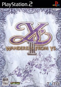 Jaquette de Ys III : Wanderers from Ys PlayStation 2