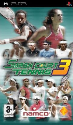 Jaquette de Smash Court Tennis 3 PSP