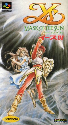 Jaquette de Ys IV : Mask of the Sun Super NES