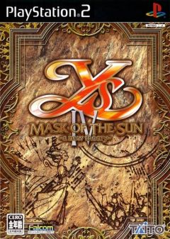 Jaquette de Ys IV : Mask of the Sun PlayStation 2