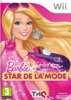 Jaquette de Barbie : Star de la Mode Wii