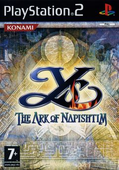 Jaquette de Ys : The Ark of Napishtim PlayStation 2