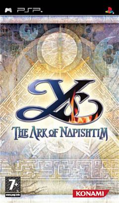Jaquette de Ys : The Ark of Napishtim PSP
