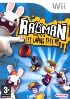 Jaquette de Rayman contre les Lapins Crétins Wii