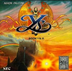 Jaquette de Ys : Book I & II PC Engine