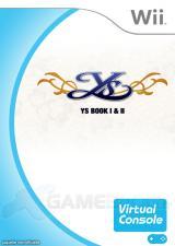 Jaquette de Ys : Book I & II Wii