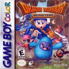 Jaquette de Dragon Quest Monsters Game Boy Color