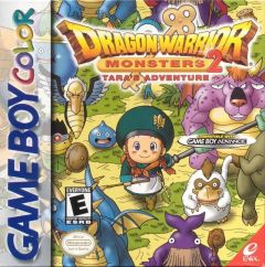Jaquette de Dragon Quest Monsters 2 : Tara's Adventure Game Boy Color