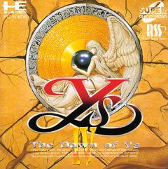 Jaquette de Ys IV : The Dawn of Ys PC Engine