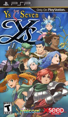 Jaquette de Ys Seven PSP