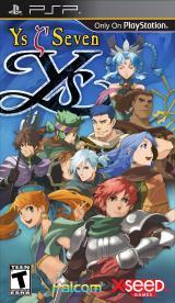 Jaquette de Ys Seven PlayStation 3