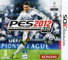 Jaquette de PES 2012 Nintendo 3DS