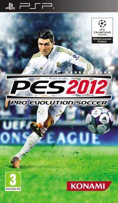 Jaquette de PES 2012 PSP