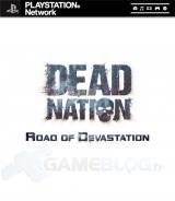 Jaquette de Dead Nation : Road of Devastation PlayStation 3