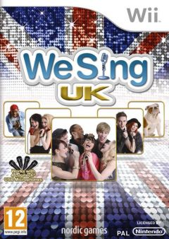 Jaquette de We Sing UK Hits Wii