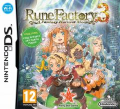 Jaquette de Rune Factory 3 : A Fantasy Harvest Moon DS
