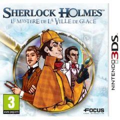 Jaquette de Sherlock Holmes : Le Mystère de la Ville de Glace Nintendo 3DS