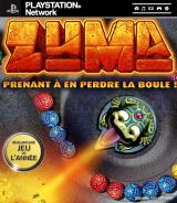 Jaquette de Zuma PlayStation 3