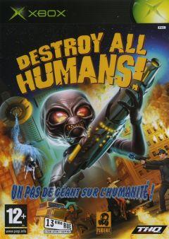 Jaquette de Destroy All Humans! (original) Xbox